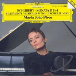 Pires / Schubert - Schubert: Sonata; 6 Moments Musicaux; 2 Scherzi CD Cover Art