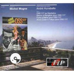 Magne, Michel / Original Soundtrack - Oss 117 CD Cover Art