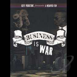 Kgeye Productions Inc. and Media Push Films - Business Is War DVD Cover Art
