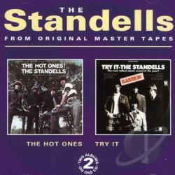 Standells - Hot Ones!/Try It CD Cover Art