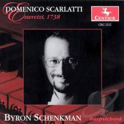 Schenkman, Byron - Domenico Scarlatti: Essercizi, 1738 CD Cover Art