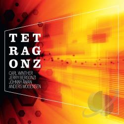 Aman, Johnny / Bergonzi, Jerry / Mogensen, Anders / Winther, Carl - Tetragonz CD Cover Art