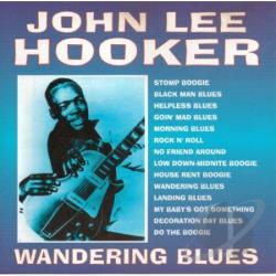 Hooker, John Lee - Wandering Blues CD Cover Art