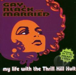 My Life With The Thrill Kill Kult - Gay, Black & Married CD Cover Art