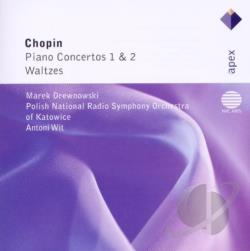 Chopin / Drewnowski - Piano Concertos Waltzes CD Cover Art
