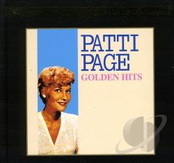 Page, Patti - Golden Hits CD Cover Art