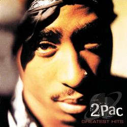 Tupac - Greatest Hits CD Cover Art