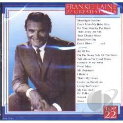 Laine, Frankie - 22 Greatest Hits CD Cover Art