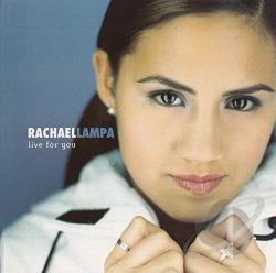Lampa, Rachael - Live For You CD Cover Art