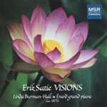 Burman-Hall / Satie - Erik Satie: Visions CD Cover Art