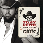 Keith, Toby - Bullets in the Gun CD Cover Art