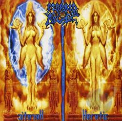 Morbid Angel - Heretic CD Cover Art