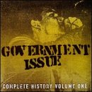 Government Issue - Complete History, Vol. 1 CD Cover Art