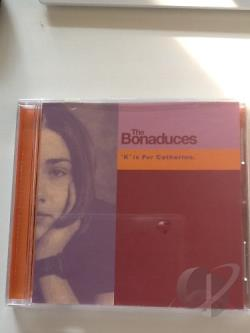 Bonaduces - K Is For Catherine CD Cover Art