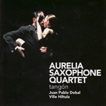 Aurelia Saxophone Quartet - Tangon CD Cover Art