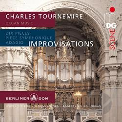 Sieling, Andreas - Charles Tournemire: Organ Music CD Cover Art