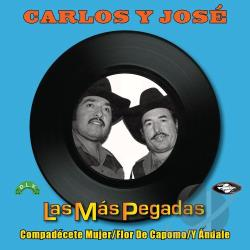 Carlos Y Jose - Las Mas Pegadas CD Cover Art