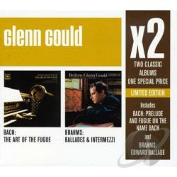 Gould, Glenn - X 2: Glenn Gould CD Cover Art