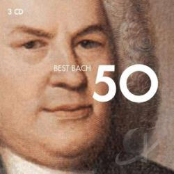 50 Best Bach - Best Bach 50 CD Cover Art
