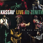 Kassav - Live au Zenith CD Cover Art