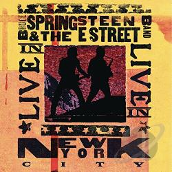 Springsteen, Bruce / Springsteen, Bruce & The E Street Band - Live in NYC CD Cover Art