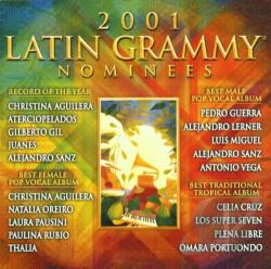 2001 Latin Grammy Nominees CD Cover Art