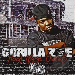 Gorilla Zoe - Hood Nigga Diaries CD Cover Art