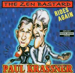 Krassner, Paul - Zen Bastard Rides Again CD Cover Art