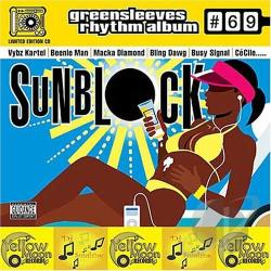 Sunblock: Greensleeves Rhythm Album, No. 69 LP Cover Art