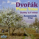 Dvorak / Rosamunde Trio - Dvorak: Piano Trios in F minor & E minor CD Cover Art