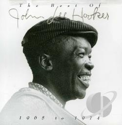 Hooker, John Lee - The Best of John Lee Hooker 1965 to 1974 CD Cover Art