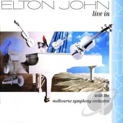 John, Elton - Live in Australia CD Cover Art