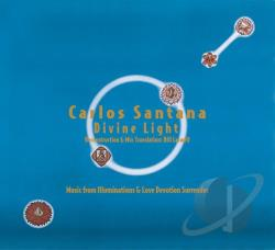 Santana, Carlos - Carlos Santana: Divine Light CD Cover Art