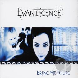Evanescence - Bring Me To Life CD Cover Art