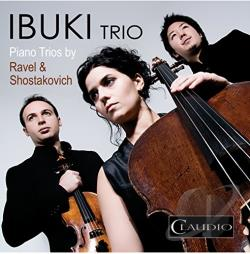 Ibuki Trio / Shostakovich - Piano Trios by Ravel & Shostakovich CD Cover Art