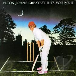 John, Elton - Greatest Hits, Vol. 2 CD Cover Art
