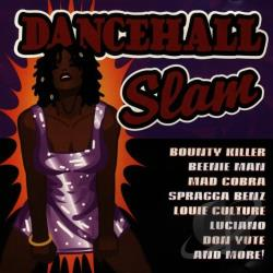 Dancehall Slam CD Cover Art