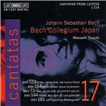Bach: Cantatas, Vol. 17 - From Leipzig, 1724 CD Cover Art