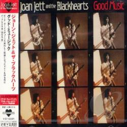 Jett, Joan / Jett, Joan & The Blackhearts - Good Music CD Cover Art