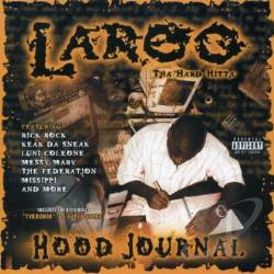 Laroo - Hood Journal CD Cover Art
