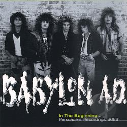 Babylon A.D. - In the Beginning... Persuaders Recordings 8688 CD Cover Art
