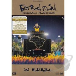 Fatboy Slim - Incredible Adventures In Brazil CD Cover Art