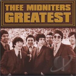 Thee Midniters - Greatest Hits CD Cover Art