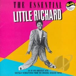 Little Richard - Essential CD Cover Art
