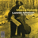 Johnson, Lonnie - Blues & Ballads CD Cover Art