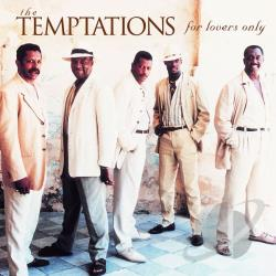 Temptations - For Lovers Only CD Cover Art