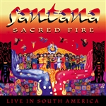 Santana - Sacred Fire: Santana Live in South America CD Cover Art