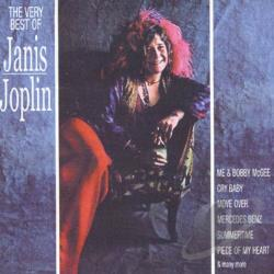 Joplin, Janis - Very Best of Janis Joplin CD Cover Art