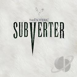 Esoteric - Subverter CD Cover Art
