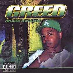 Greed - Music Related CD Cover Art